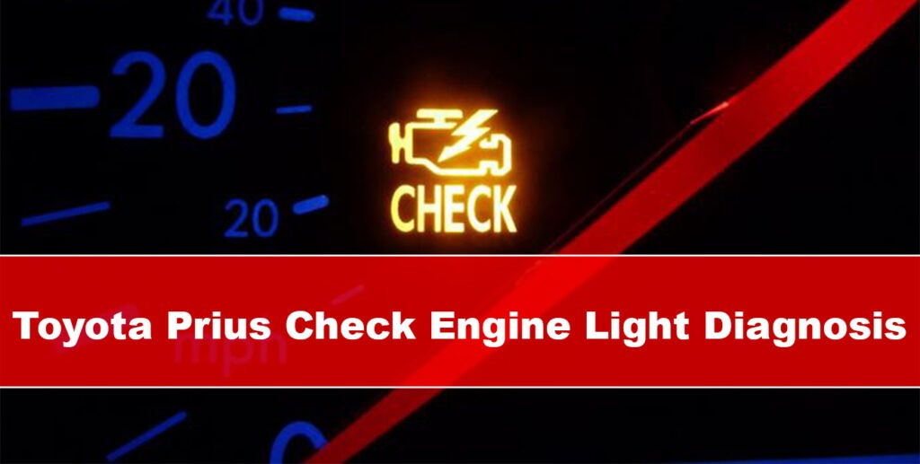 Toyota Prius Check Engine Light Diagnosis